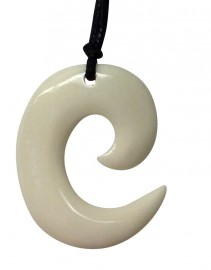 Bone Koru Necklace