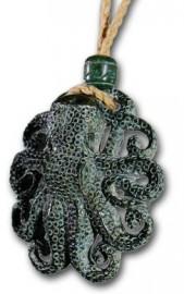 Green Rock Octopus Necklace
