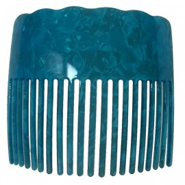 Colored Faux Turtle Shell Comb
