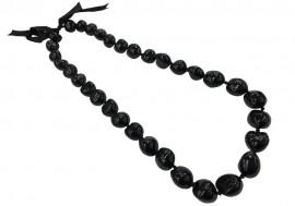 Black Kukui Nut Lei