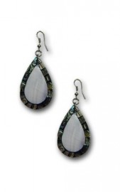 Mother of Pearl/Abalone Teardrop