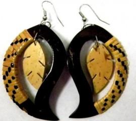 Samoan Coconut Earrings