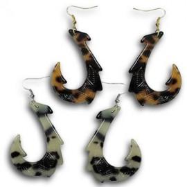 Turtle Shell Hook Style Earrings