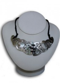 Mother of Pearl Boomerang Honu necklace