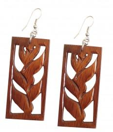Koa Wood Earrings